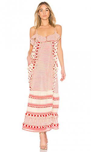 Платье-накидка peeri Dodo Bar Or. Цвет: красный