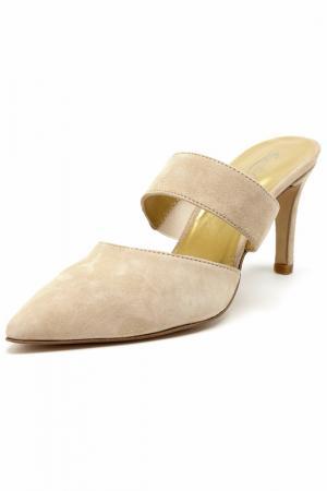 High-heels sandals Rosa rot. Цвет: beige
