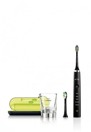 Электрическая зубная щетка Philips. Цвет: черный