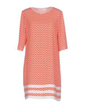 Короткое платье ANONYME DESIGNERS. Цвет: красный