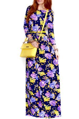 Платье FRANCESCA LUCINI. Цвет: золотой, роза