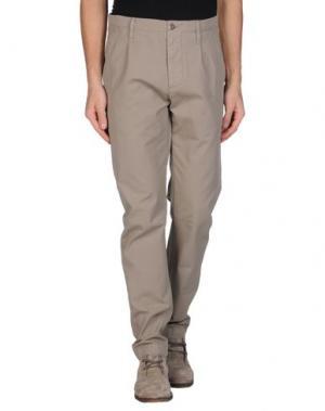 Повседневные брюки NOVEMB3R. Цвет: голубиный серый
