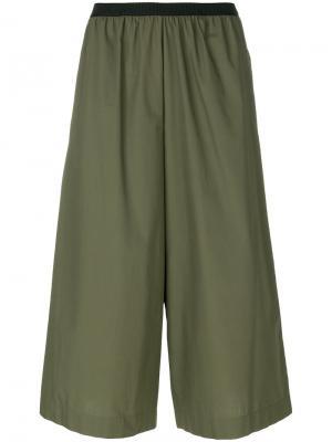 Широкие брюки Antonio Marras. Цвет: зелёный