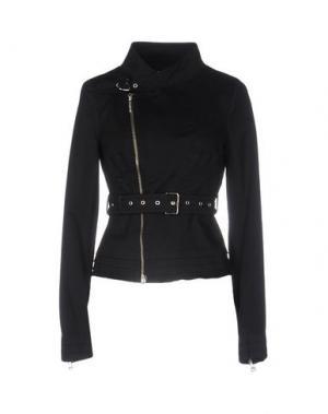 Куртка PAOLA FRANI. Цвет: черный