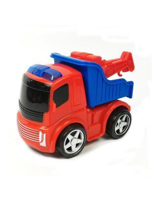 Машина инерционная Азбука Тойс. Цвет: красный