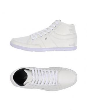 Высокие кеды и кроссовки BOXFRESH. Цвет: белый
