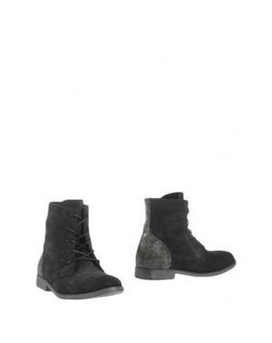 Полусапоги и высокие ботинки OCA-LOCA. Цвет: черный