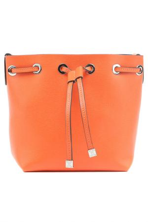 Сумка Coccinelle. Цвет: оранжевый