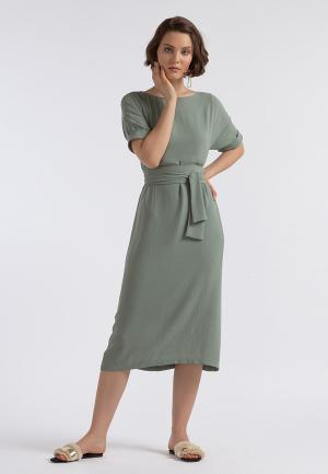 Платье Lova. Цвет: хаки