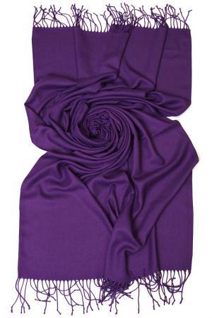 Палантин Frantelli. Цвет: лиловый темный