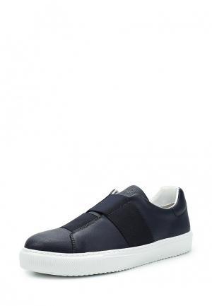 Слипоны Armani Jeans. Цвет: синий
