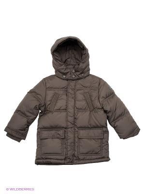 Куртка Brums. Цвет: коричневый