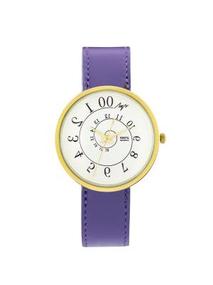 Часы наручные ЛУЧ.. Цвет: темно-фиолетовый