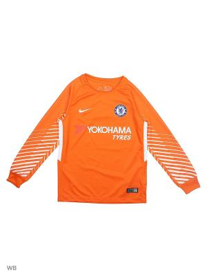 Лонгслив CFC Y NK BRT STAD JSY LS GK Nike. Цвет: оранжевый