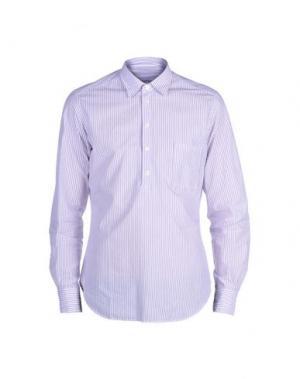 Pубашка LEXINGTON. Цвет: фиолетовый