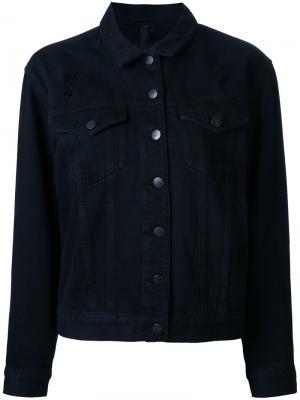 Куртка Chloe Nobody Denim. Цвет: чёрный