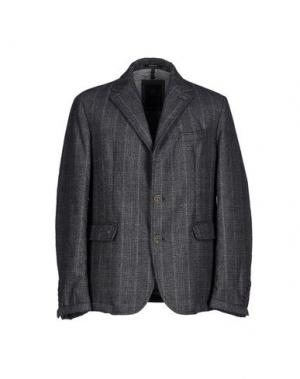 Пиджак CALVARESI. Цвет: свинцово-серый