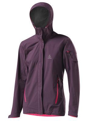 Куртка GTX Loeffler. Цвет: коричневый, сиреневый