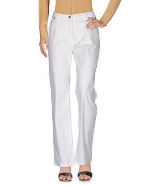 Повседневные брюки ALVIERO MARTINI 1a CLASSE. Цвет: белый
