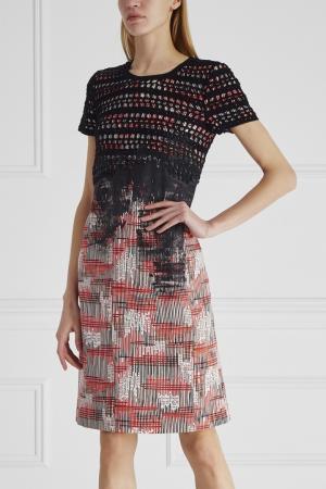 Платье Bottega Veneta. Цвет: multicolor
