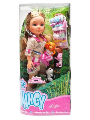 Кукла Nancy Famosa. Цвет: розовый