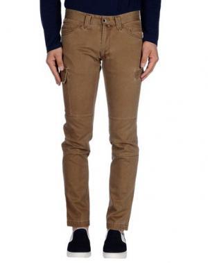 Повседневные брюки MESSAGERIE. Цвет: хаки