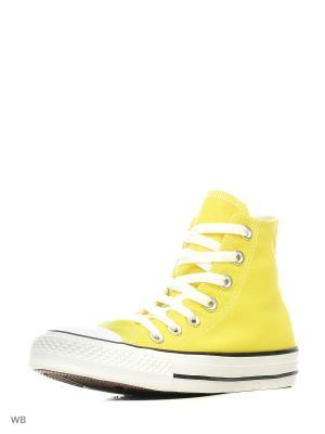 Кеды Chuck Taylor All Star Converse. Цвет: желтый