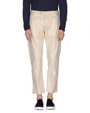 Джинсовые брюки ENTRE AMIS. Цвет: бежевый