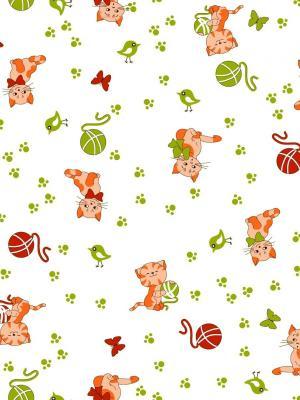 Пеленки фланелевые, набор 4 шт., 75х100см. Letto. Цвет: белый, зеленый, оранжевый