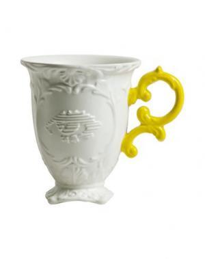 Для чая и кофе SELETTI. Цвет: желтый