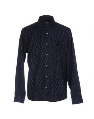 Pубашка 40WEFT. Цвет: темно-синий