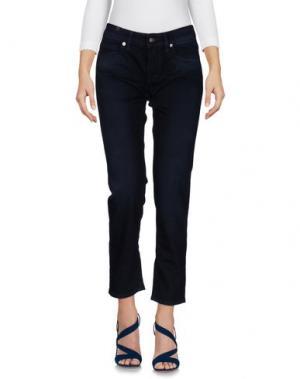 Джинсовые брюки NOTIFY. Цвет: темно-синий