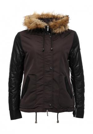 Куртка Phard. Цвет: коричневый