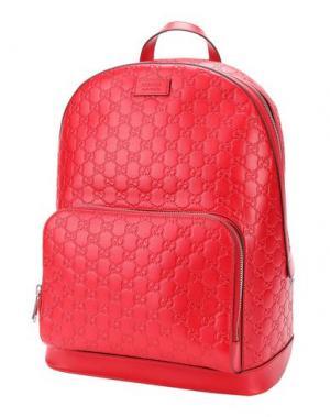 Рюкзаки и сумки на пояс GUCCI. Цвет: красный