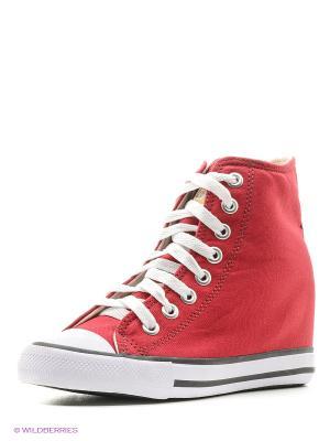 Сникеры 4U. Цвет: бордовый