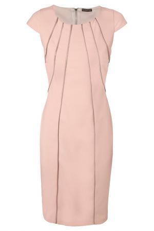 Платье Apart. Цвет: бежево-розовый