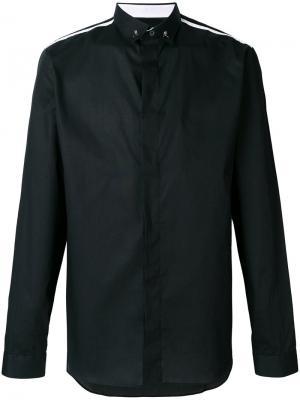 Рубашка Andrew Philipp Plein. Цвет: чёрный