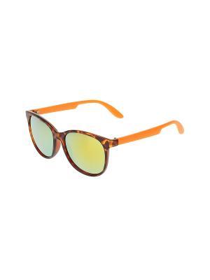 Очки солнцезащитные Happy Charms Family. Цвет: черный, желтый, оранжевый