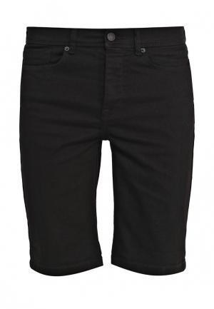 Шорты джинсовые Burton Menswear London. Цвет: черный