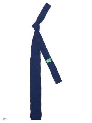 Галстук United Colors of Benetton. Цвет: синий, лазурный