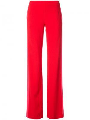 Широкие брюки Jeffrey Dodd. Цвет: красный