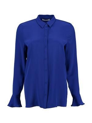 Блузка Cacharel. Цвет: синий