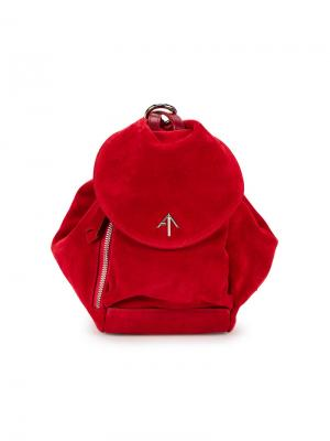 Рюкзак Fernweh Manu Atelier. Цвет: красный