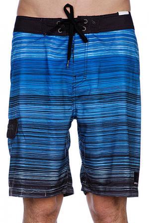Пляжные мужские шорты  Mercury 21 Boardshort Black Rip Curl. Цвет: голубой,черный