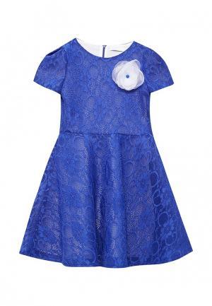 Платье Letty. Цвет: синий