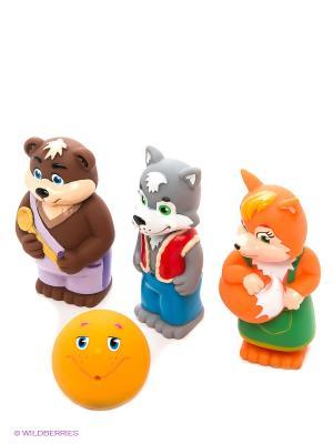Пластизоль набор Колобок ЗАТЕЙНИКИ. Цвет: коричневый, оранжевый, серый