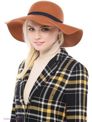 Шляпа Mango. Цвет: терракотовый, светло-коричневый
