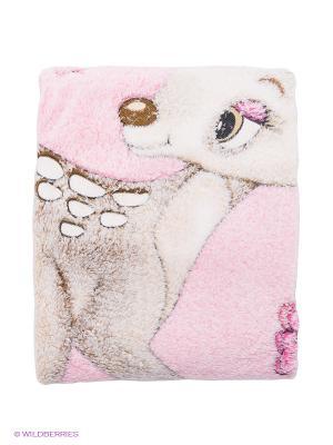 Плед Bebitof Baby. Цвет: бежевый, молочный, бледно-розовый
