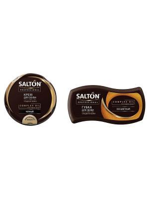 Набор средств для ухода за  обувью Salton. Цвет: черный, прозрачный