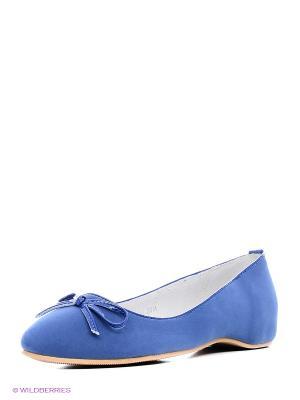 Балетки KENKA. Цвет: синий